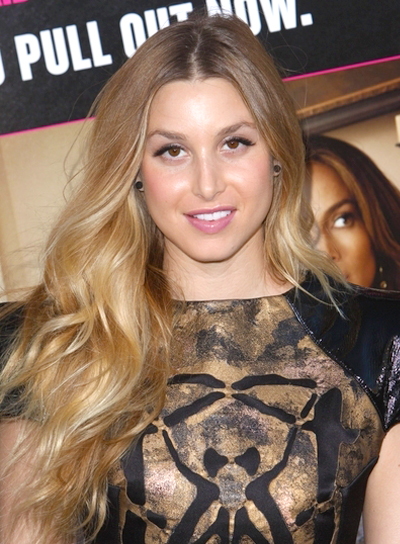 Whitney Port's Long, Blonde, Wavy, Romantic Hairstyle